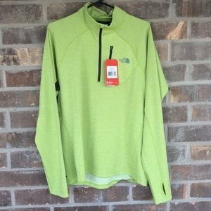 North Face 1/4 Zip Impulse Active Performance Top